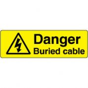 Warn120 - Danger Buried Cable